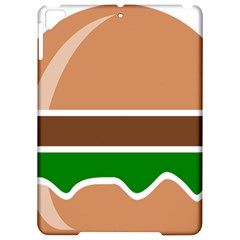 Hamburger Fast Food A Sandwich Apple Ipad Pro 9 7   Hardshell Case