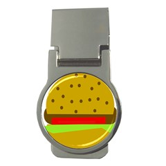 Hamburger Food Fast Food Burger Money Clips (round)