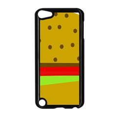 Hamburger Food Fast Food Burger Apple Ipod Touch 5 Case (black)