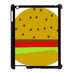Hamburger Food Fast Food Burger Apple Ipad 3/4 Case (black)