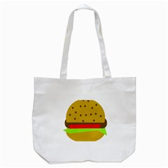 Hamburger Food Fast Food Burger Tote Bag (white)