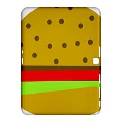 Hamburger Food Fast Food Burger Samsung Galaxy Tab 4 (10 1 ) Hardshell Case