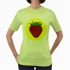 Nature Deserts Objects Isolated Women s Green T Shirt