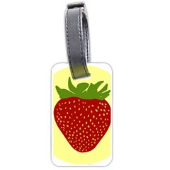 Nature Deserts Objects Isolated Luggage Tags (two Sides)