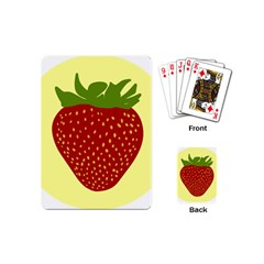 Nature Deserts Objects Isolated Playing Cards (mini)