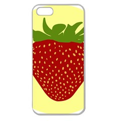 Nature Deserts Objects Isolated Apple Seamless Iphone 5 Case (clear)