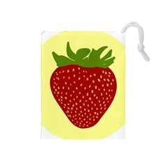 Nature Deserts Objects Isolated Drawstring Pouches (medium)