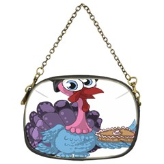 Turkey Animal Pie Tongue Feathers Chain Purses (two Sides)