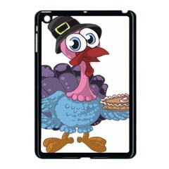 Turkey Animal Pie Tongue Feathers Apple Ipad Mini Case (black)