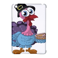 Turkey Animal Pie Tongue Feathers Apple Ipad Mini Hardshell Case (compatible With Smart Cover)