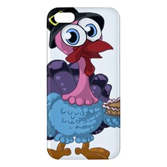 Turkey Animal Pie Tongue Feathers Apple Iphone 5 Premium Hardshell Case