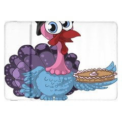 Turkey Animal Pie Tongue Feathers Samsung Galaxy Tab 8 9  P7300 Flip Case