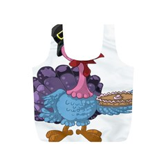 Turkey Animal Pie Tongue Feathers Full Print Recycle Bags (s)