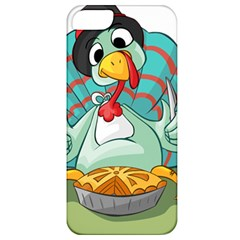 Pie Turkey Eating Fork Knife Hat Apple Iphone 5 Classic Hardshell Case