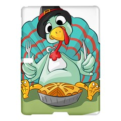 Pie Turkey Eating Fork Knife Hat Samsung Galaxy Tab S (10 5 ) Hardshell Case