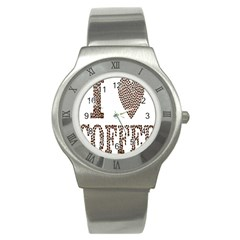 Love Heart Romance Passion Stainless Steel Watch
