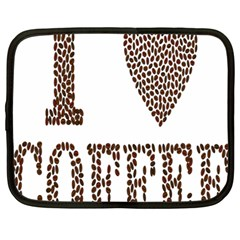 Love Heart Romance Passion Netbook Case (large)