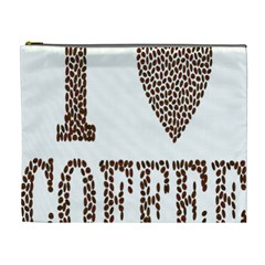 Love Heart Romance Passion Cosmetic Bag (xl)
