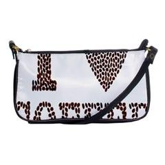 Love Heart Romance Passion Shoulder Clutch Bags