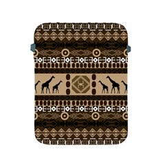 Giraffe African Vector Pattern Apple Ipad 2/3/4 Protective Soft Cases