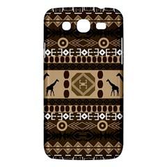 Giraffe African Vector Pattern Samsung Galaxy Mega 5 8 I9152 Hardshell Case