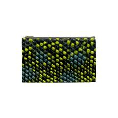 Lizard Animal Skin Cosmetic Bag (small)