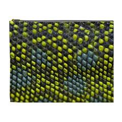 Lizard Animal Skin Cosmetic Bag (xl)