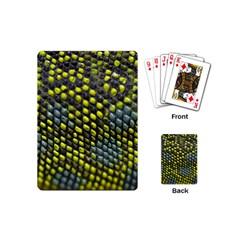 Lizard Animal Skin Playing Cards (mini)