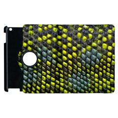 Lizard Animal Skin Apple Ipad 3/4 Flip 360 Case