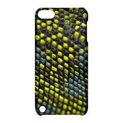 Lizard Animal Skin Apple Ipod Touch 5 Hardshell Case With Stand