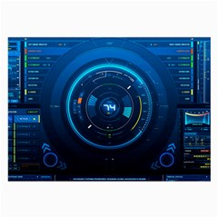 Technology Dashboard Large Glasses Cloth (2 Side)
