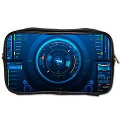 Technology Dashboard Toiletries Bags 2 Side