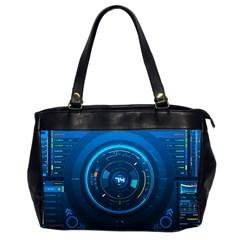 Technology Dashboard Office Handbags (2 Sides)