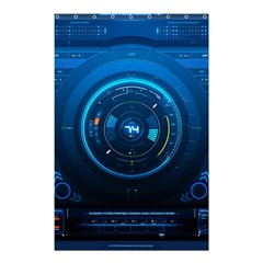 Technology Dashboard Shower Curtain 48  X 72  (small)