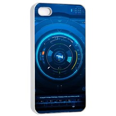 Technology Dashboard Apple Iphone 4/4s Seamless Case (white)