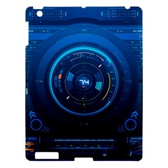 Technology Dashboard Apple Ipad 3/4 Hardshell Case