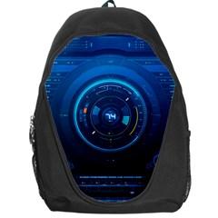 Technology Dashboard Backpack Bag