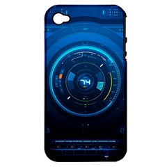 Technology Dashboard Apple Iphone 4/4s Hardshell Case (pc+silicone)