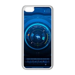 Technology Dashboard Apple Iphone 5c Seamless Case (white)