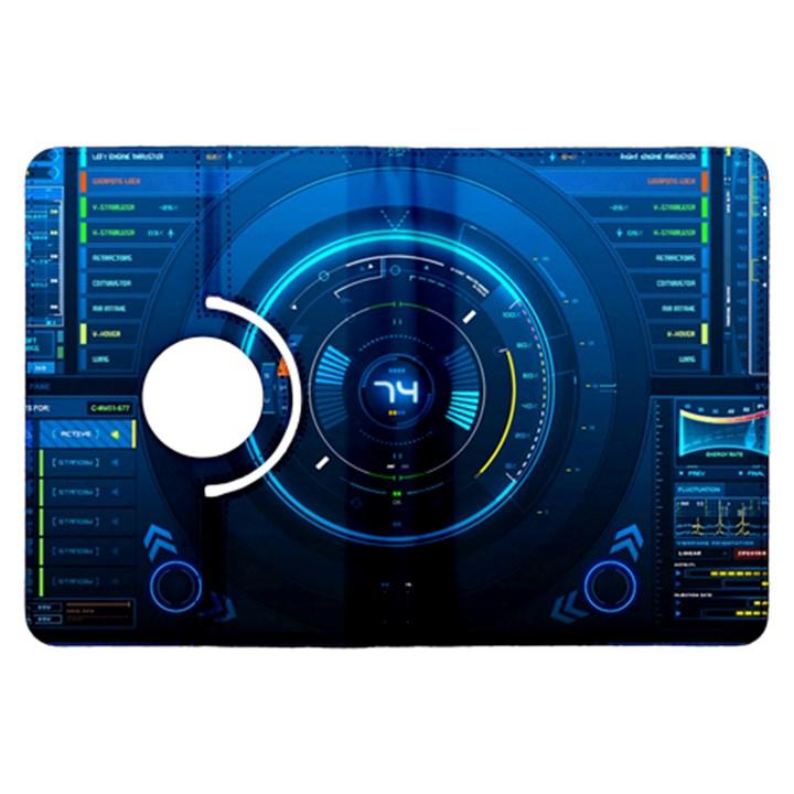 Technology Dashboard Kindle Fire HDX Flip 360 Case