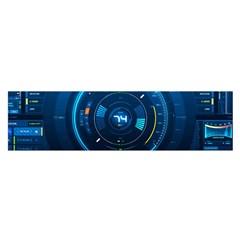 Technology Dashboard Satin Scarf (oblong)