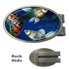 Marine Fishes Money Clips (oval)