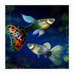 Marine Fishes Medium Glasses Cloth