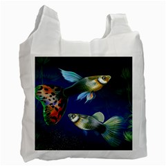 Marine Fishes Recycle Bag (one Side)