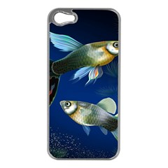 Marine Fishes Apple Iphone 5 Case (silver)