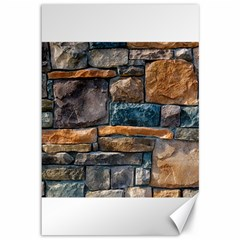 Brick Wall Pattern Canvas 12  X 18
