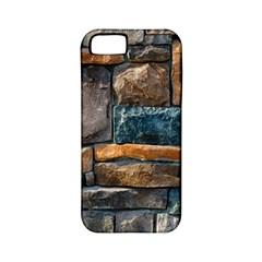 Brick Wall Pattern Apple Iphone 5 Classic Hardshell Case (pc+silicone)