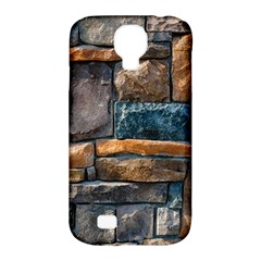 Brick Wall Pattern Samsung Galaxy S4 Classic Hardshell Case (pc+silicone)
