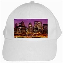 City Night White Cap