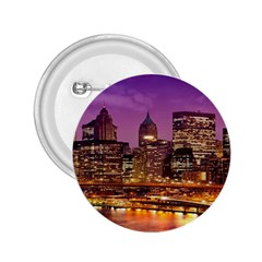 City Night 2 25  Buttons